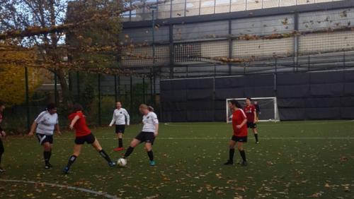Autumn League Football Game